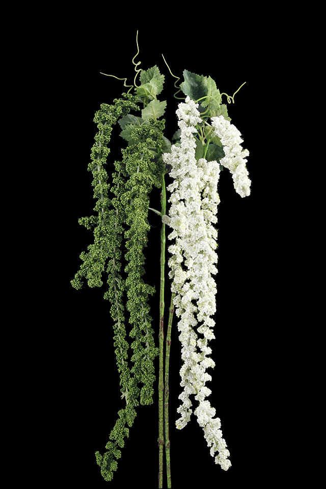 GGREENERY GGREENERIES GGREENERIE FLOWER FLOWERS AMARANTHUS AMARANTHU GARLAND GARLANDS TROPICAL TROPICALS HANGING HANGINGS TRAIL TRAILS ARTIFICIAL ARTIFICIALS GREENERY GREENERIES GREENERIE Mid Green green mid   Ivory beige off white