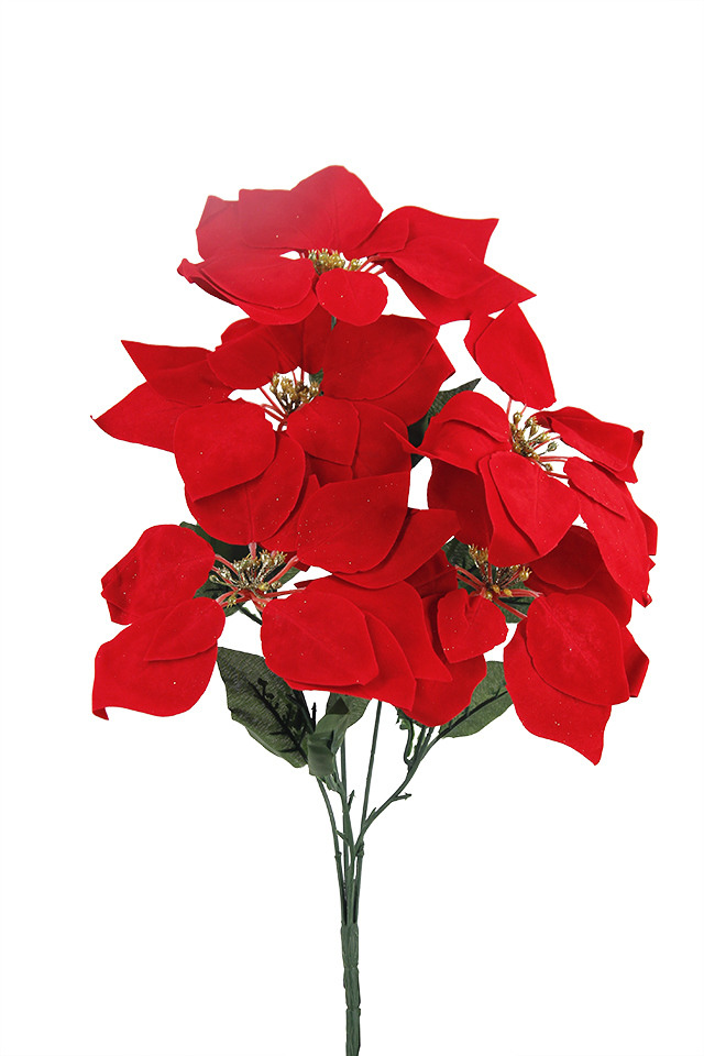 POINTSETTIA POINTSETTIUM ARTIFICIAL ARTIFICIALS FLOWERS FLOWER PICK PICKS HEAD HEADS XMAS XMA CHRISTMAS CHRISTMA DECORATION DECORATIONS GLITTER GLITTERS METALLIC METALLICS SPRAY SPRAYS SPRAIE BUNCH BUNCHES POINSETTIA POINSETTIUM FFLOWER FFLOWERS W STAMEN STAMAN Red dark