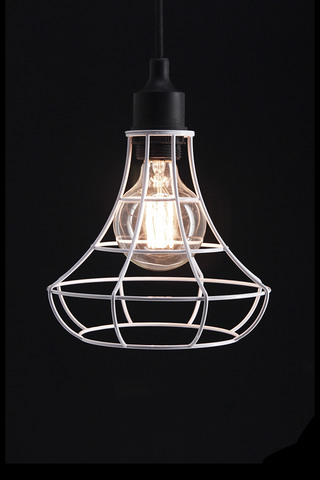 Holstens wire frame pendant bell greentooth Image collections